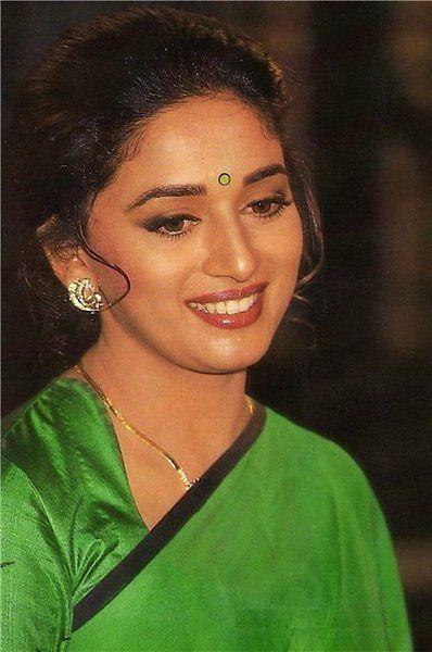 Madhuri Dixit Most Beautiful Indian Actress Beautiful Indian Actress Madhuri Dixit