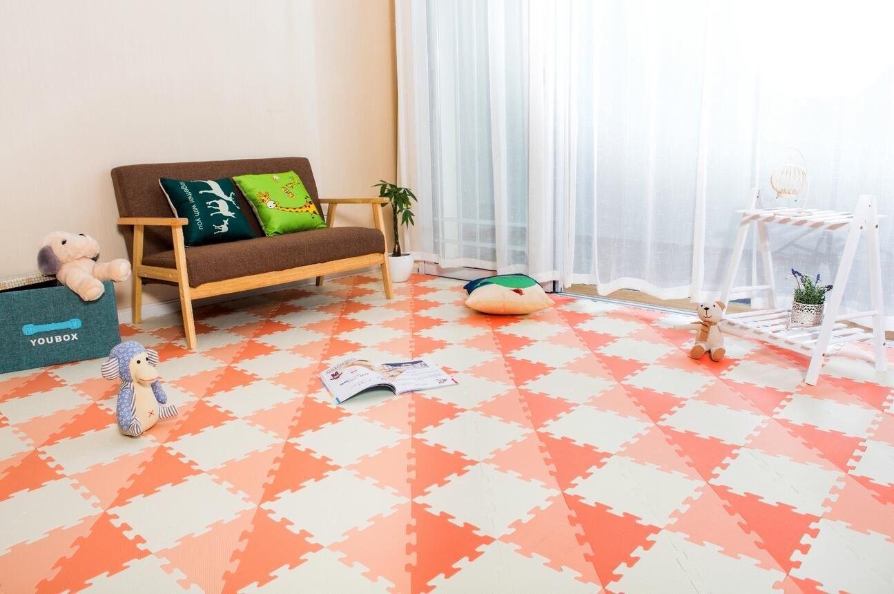 Wholesale Soft Foam Tile Interlocking Kids Play Puzzle Eva Floor