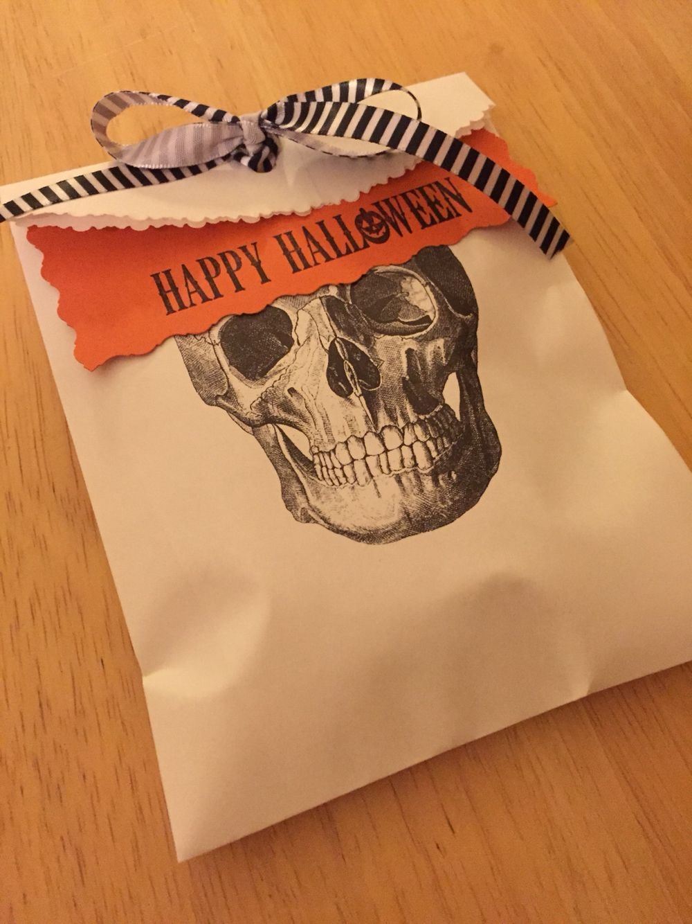 Halloween gift for coworkers. Just Snicker Doodle cookies