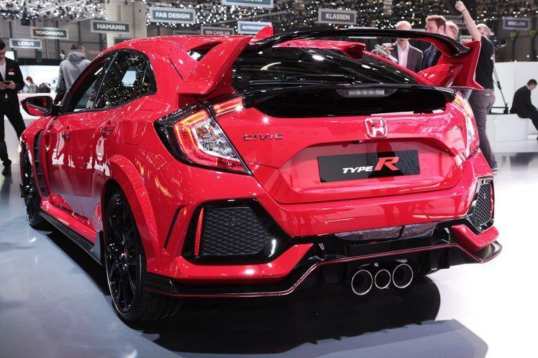 the 306 hp 2017 honda civic type r finally takes wraps off in geneva honda civic coupe. Black Bedroom Furniture Sets. Home Design Ideas