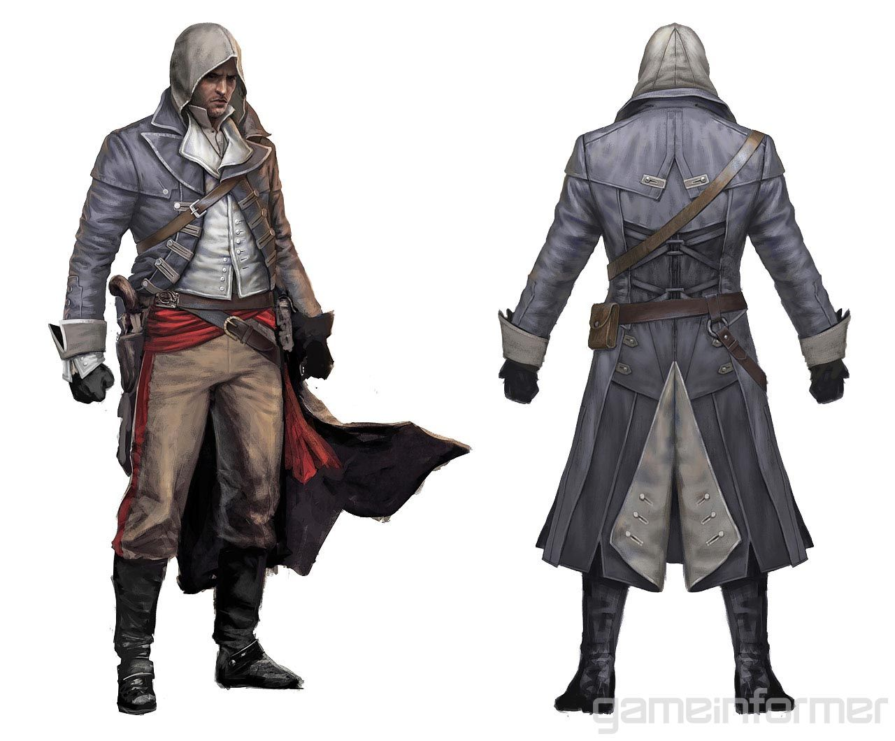 assassin character art exploring the concept art in assassin's creed rogue