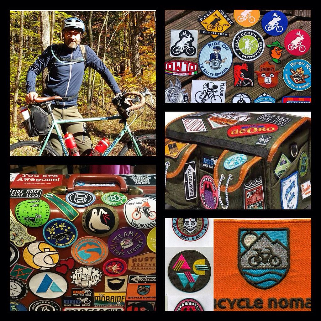 Order custom or stock patches from Falls Creek Outfitters. Owner is a  cyclist, outdoorsman, and embroidered patch maker living in the woods of  central ...