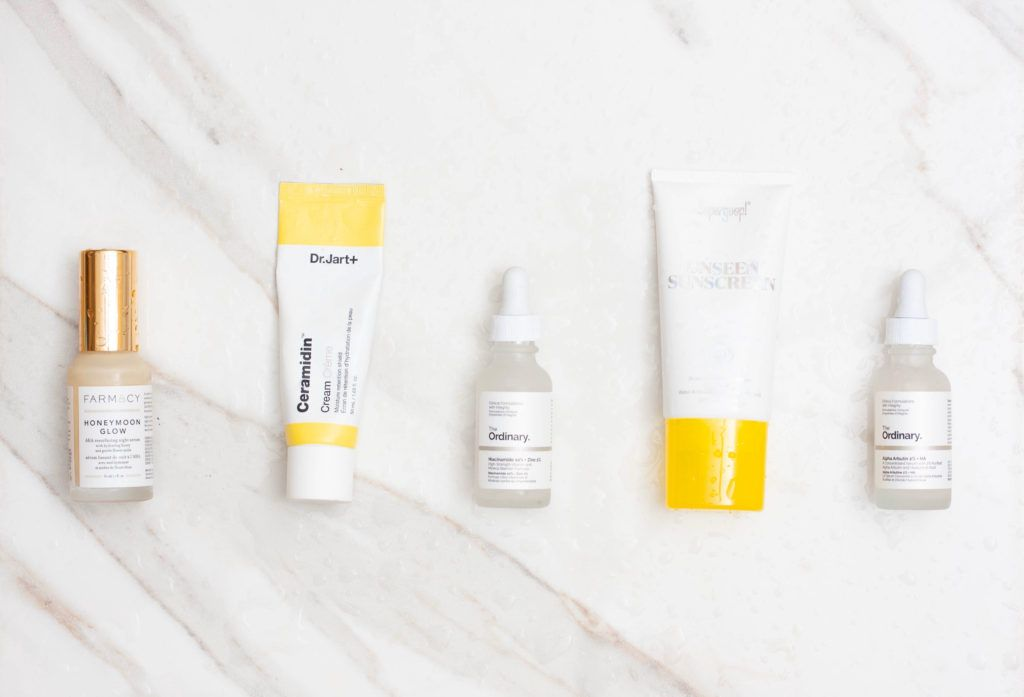 Reducing Hyperpigmentation And Texture The Ordinary Farmacy Beauty And More In 2020 Hyperpigmentation Reduce Hyperpigmentation Hormonal Breakouts