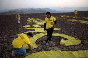 greenpeace activists peru are itdiots!