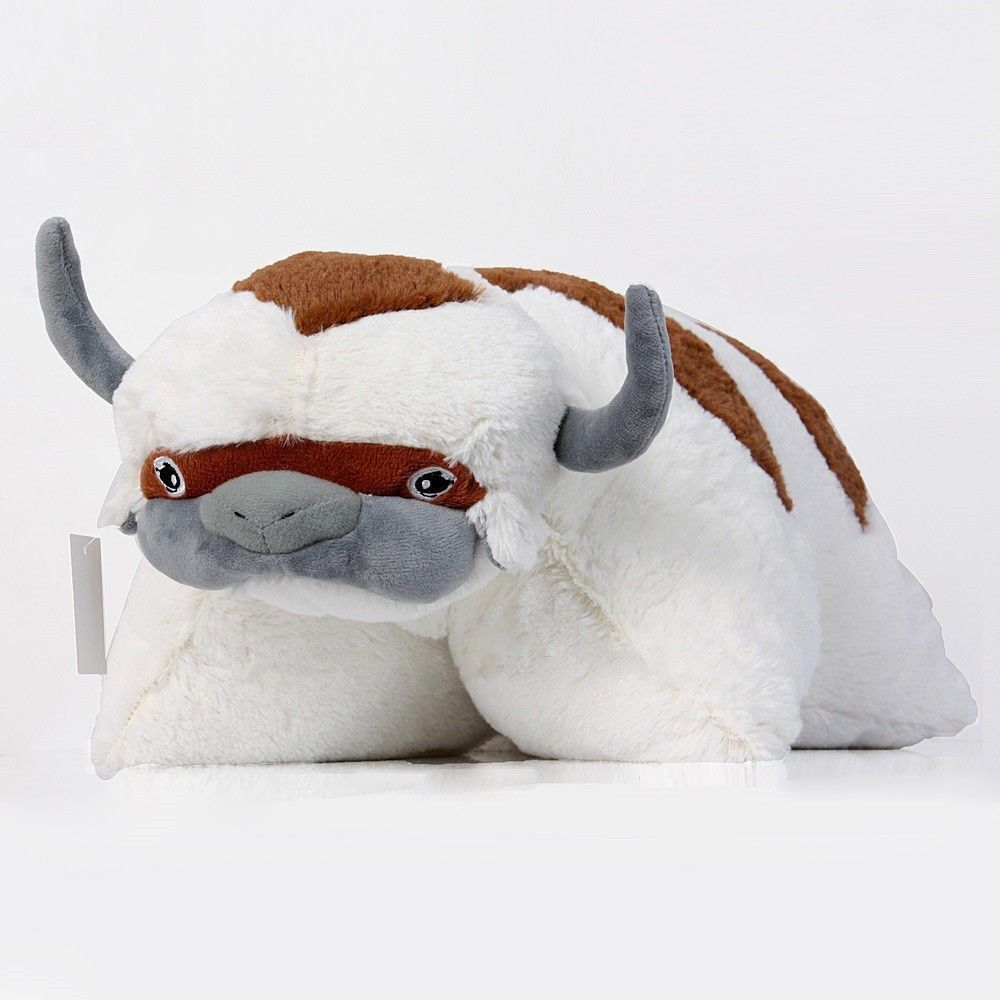 The Last Airbender Appa Avatar Plush Pillow Figure Stuffed