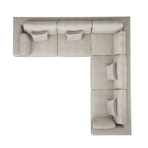 Darrius Modular Sectional With Ottoman In 2019 Corner