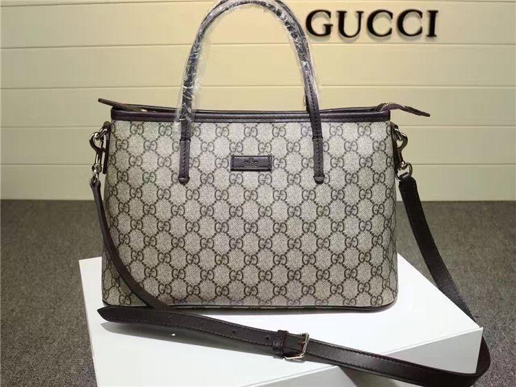 abca668c06d6 Cheap Replica Gucci 353440 gg supreme canvas tote bag | bags ...