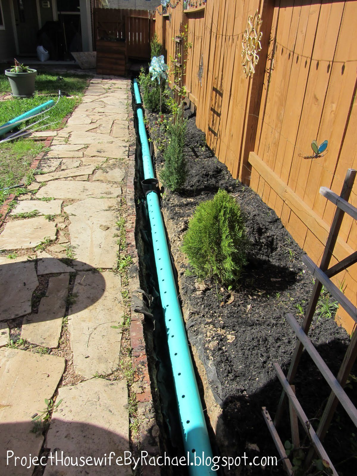 Pin by M G on drain | French drain, Backyard drainage ...