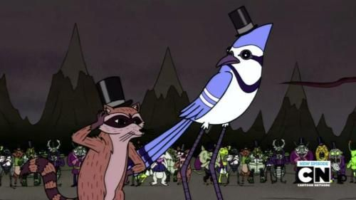 Here Speeches Are Against The Law Cartoon Network Studios Regular Show Cartoon