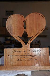 Bubulove Arte Em Madeira Bodas De Madeira Placa 5 Anos De