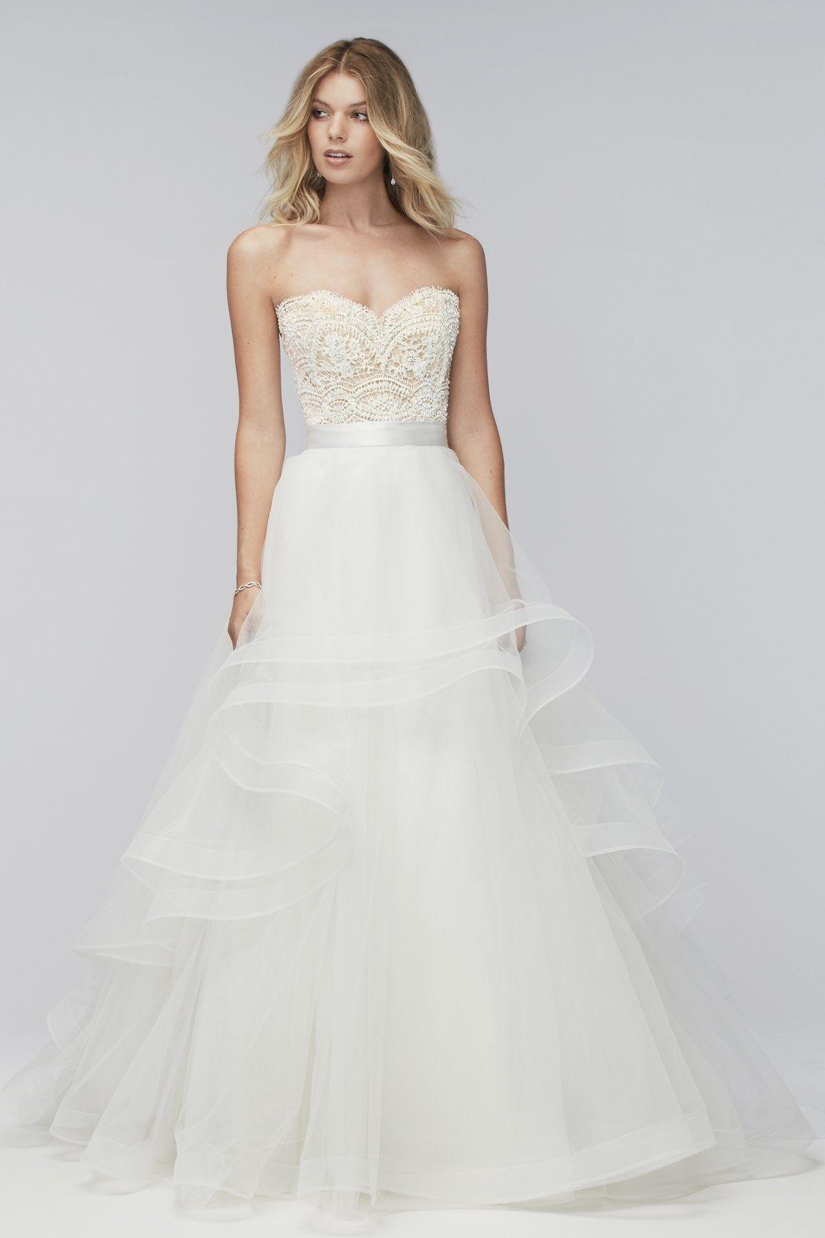 Almira skirt designer bridal gowns watters wedding