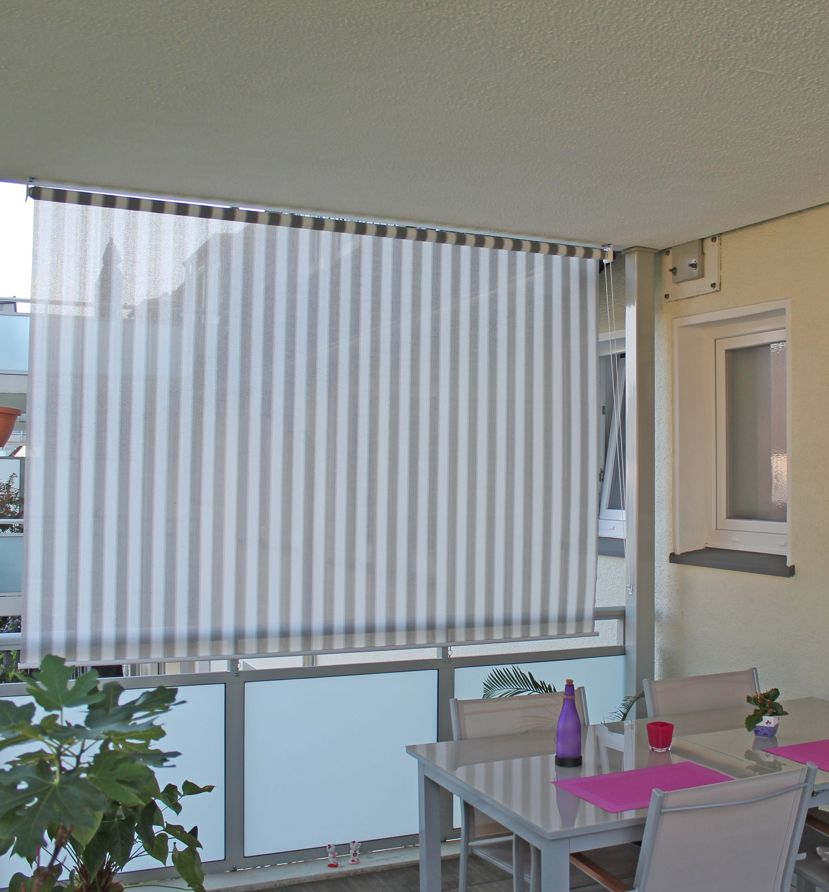 Sonnenschutz Vorhänge Balkon