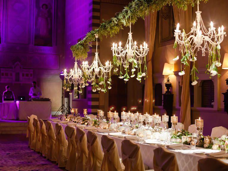 20 Unexpected Wedding Flower Ideas | Flower ideas, Floral chandelier ...