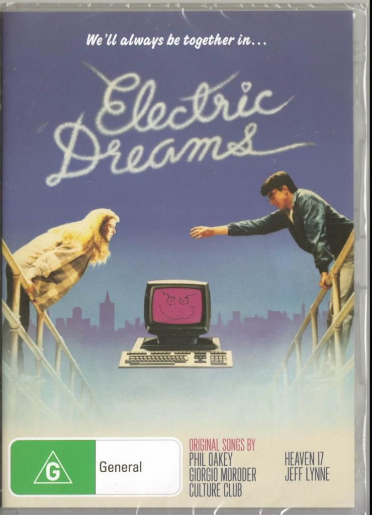 Electric Dreams All Time Classic New Sealed Dvd Free Local