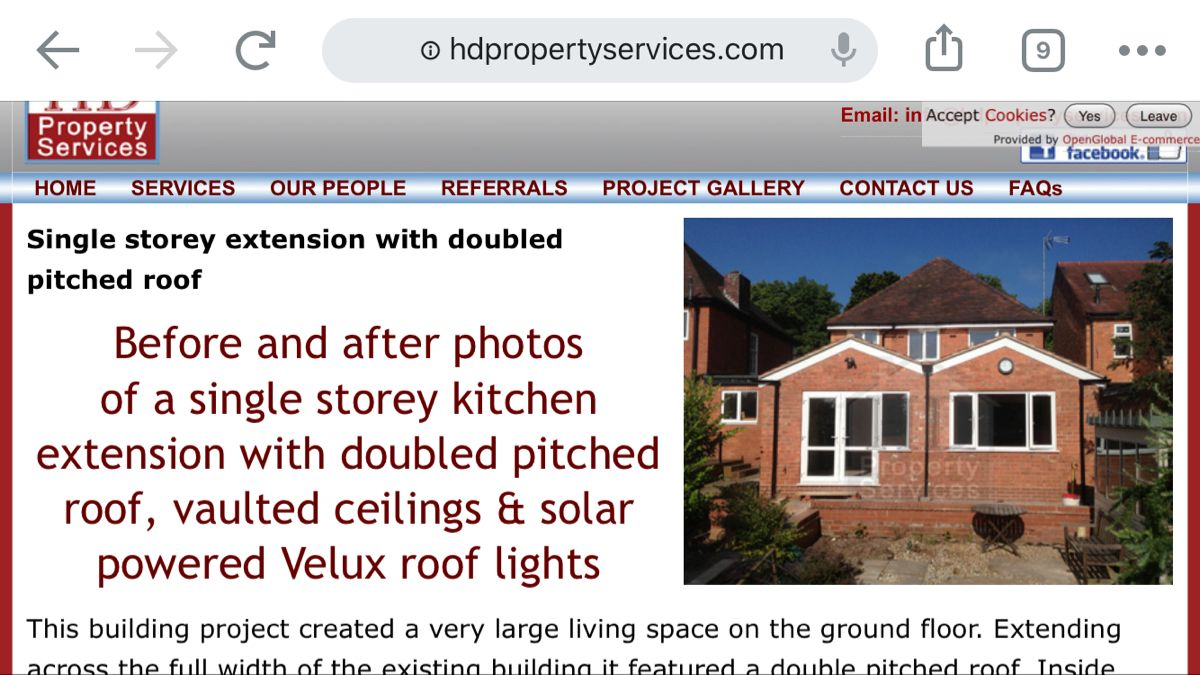 Double pitched roof in 2020 Single storey extension