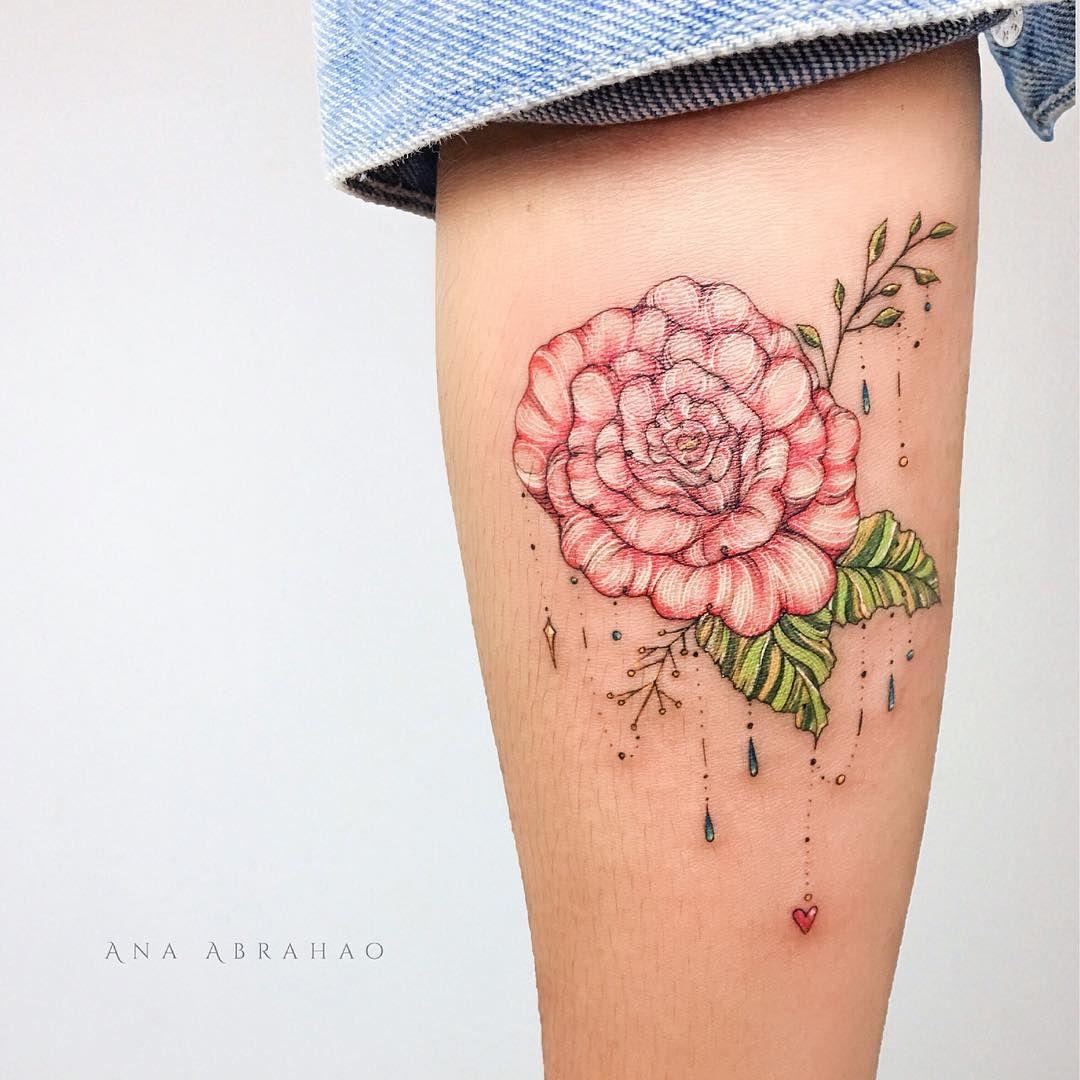 L a r o s a uma rosa que eu guardava a muito tempo e com muito