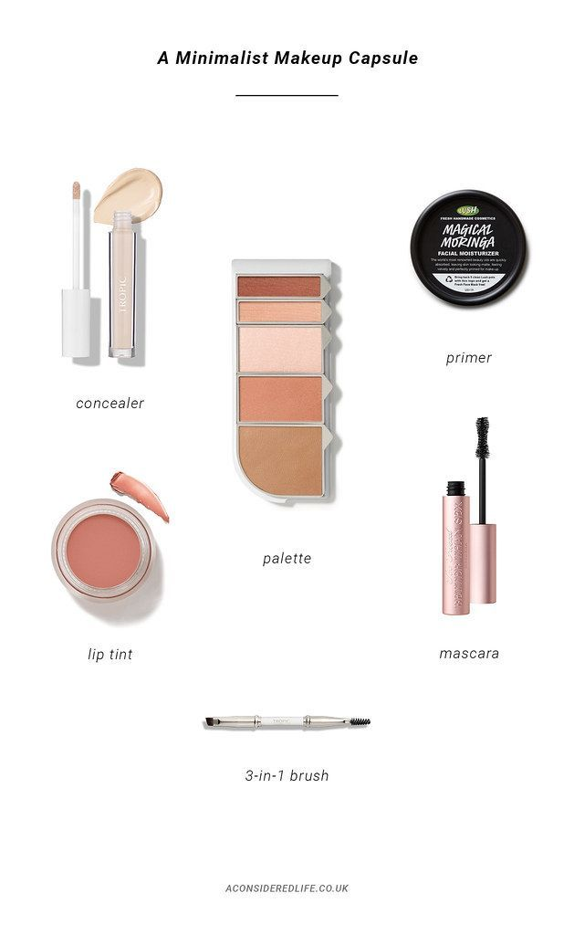 Photo of Creating A Minimalist Makeup Collection