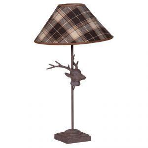 Plaid table lamp | Etsy