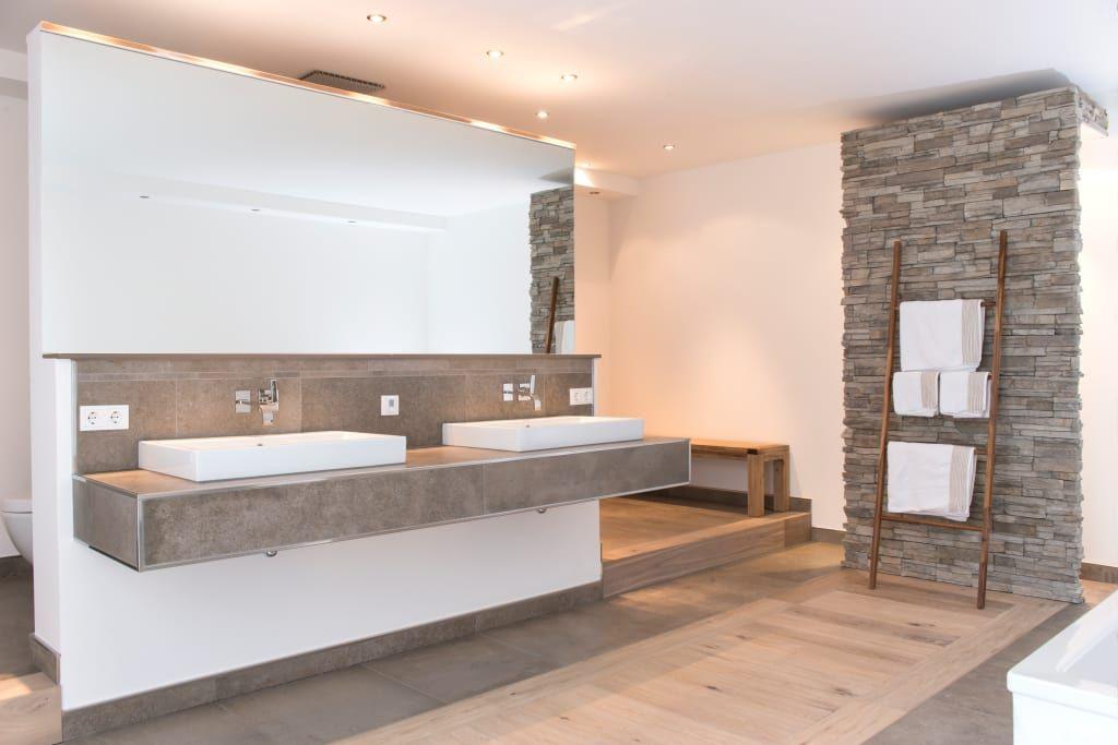Wandbilder Badezimmer ~ Moderne badezimmer bilder pientka u faszination naturstein