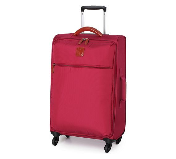 Buy IT Luggage Ultralight Spinner Small 4 Wheel Suitcase - Red at ...