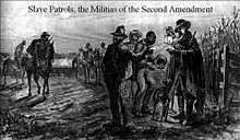 """Slave patrollers had their own characteristics, duties, and benefits, apart from slave owners and overseers. Slave patrol duties started as breaking up slave meetings. These slave meetings occurred on holidays, in which they would plan revolts and uprisings. Eventually, slave patrol expanded to be year-round, not just on holidays. Slowly, new duties and rights of patrollers became permitted, including: """"apprehending runaways, monitoring the rigid pass requirements for"""