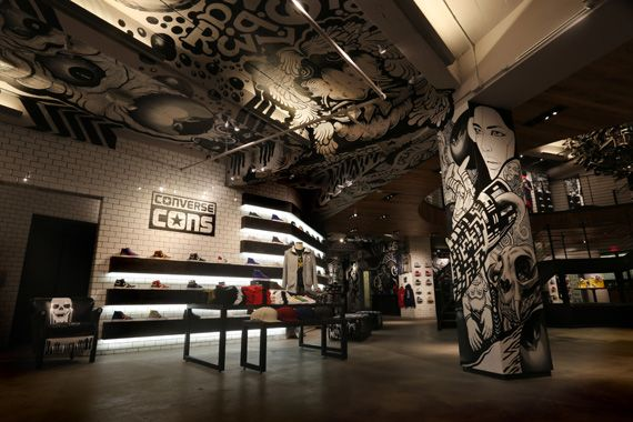 Converse Opens Largest Store in San Francisco nitrolicious