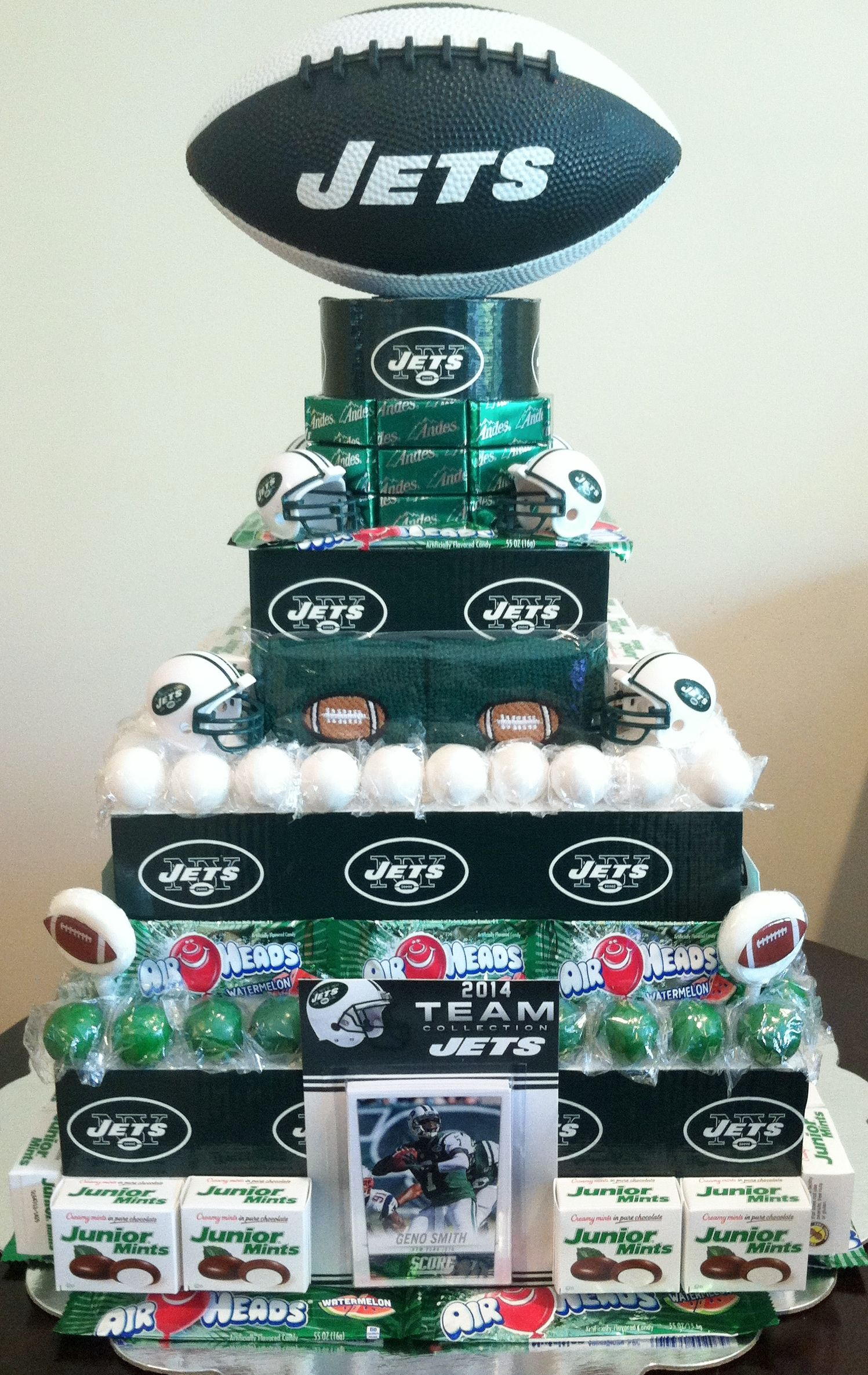 Awesome Ny Jets Football Party With Images Football Birthday Party Funny Birthday Cards Online Amentibdeldamsfinfo
