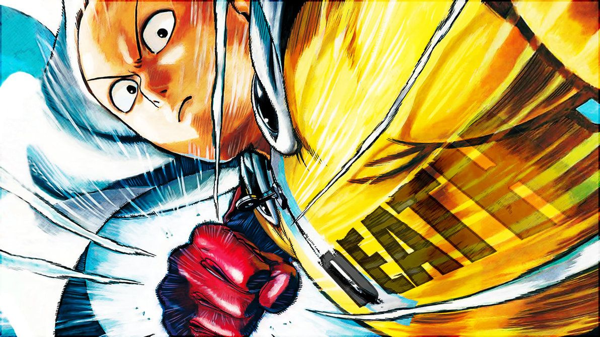 Wallpaper Of Saitama One Punch Man Manga By Murata Yusuke Art One Story Download