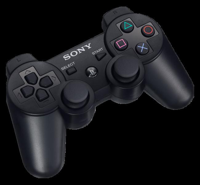 Playstation 3 Controller Black Png Image Ps3 Controller Playstation Controller Playstation