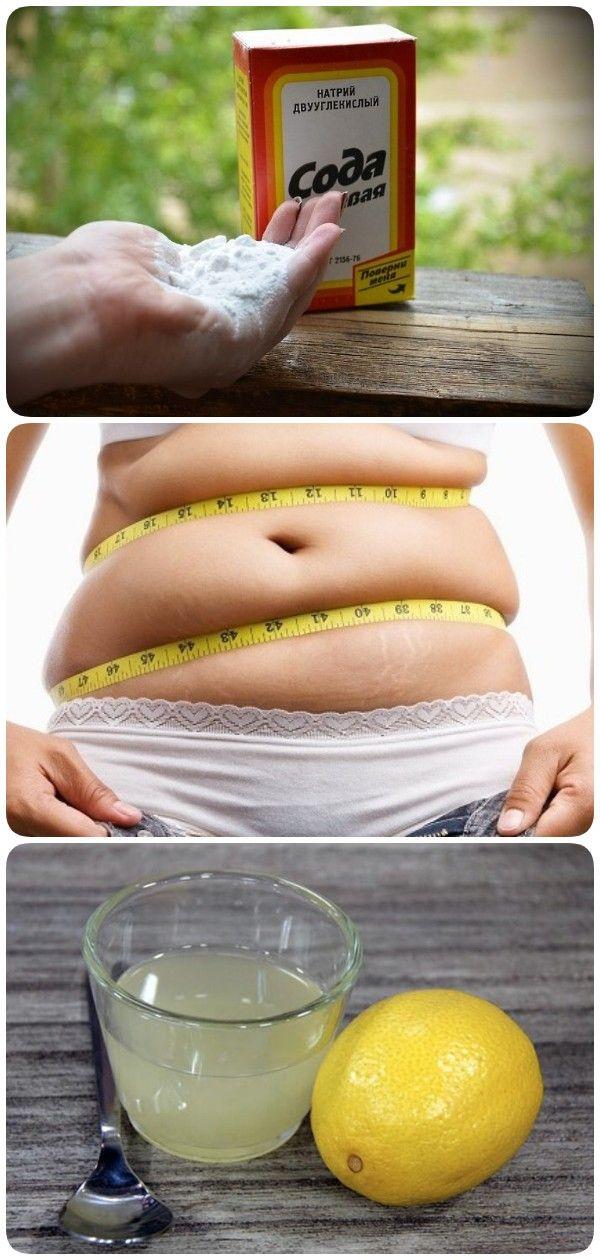 Способы похудения содой