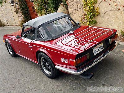 Triumph tr 6 tr6 tr6 pinterest v hicules et voiture - Vieille voiture decapotable ...