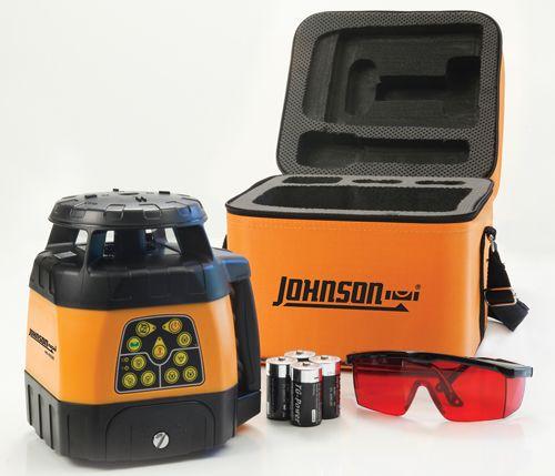 Johnson Level 40 6526 Electronic Self Leveling Horizontal Vertical Rotary Laser Rotary Vertical Laser