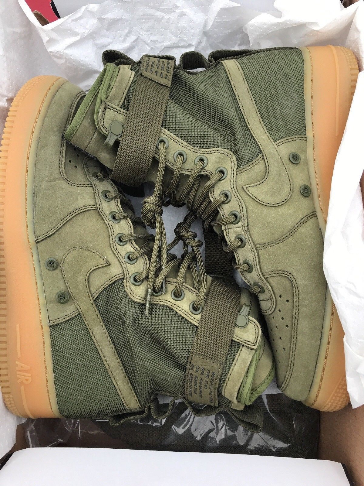 nike air force 1 mid verde militare