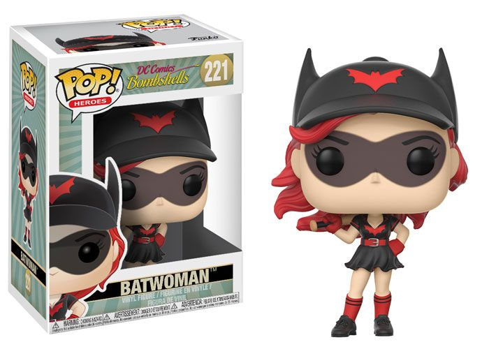 POP Heroes Catwoman #225 LIMITED  CHASE EDITION NEW DC Bombshells W2 Funko