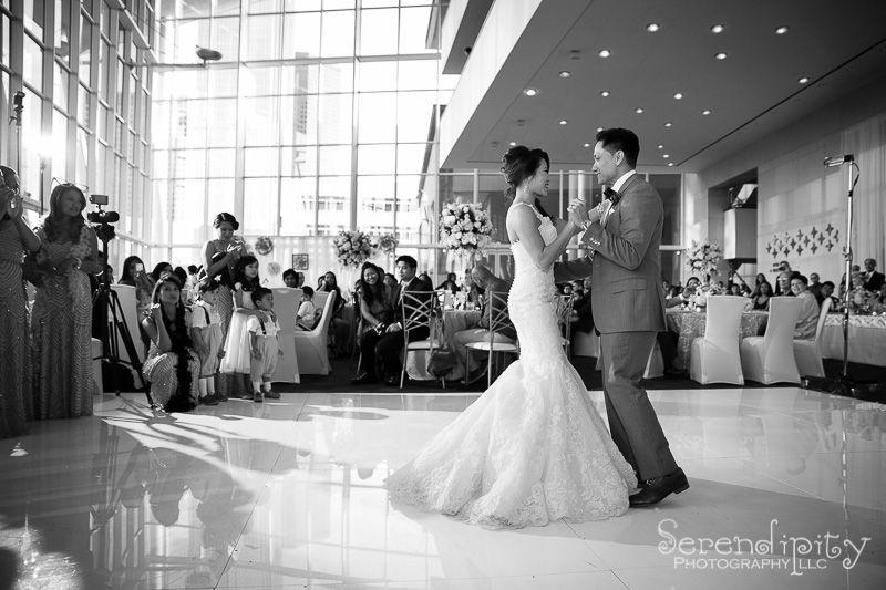 Asian Wedding at Hobby Center & Notre Dame Catholic Church ...