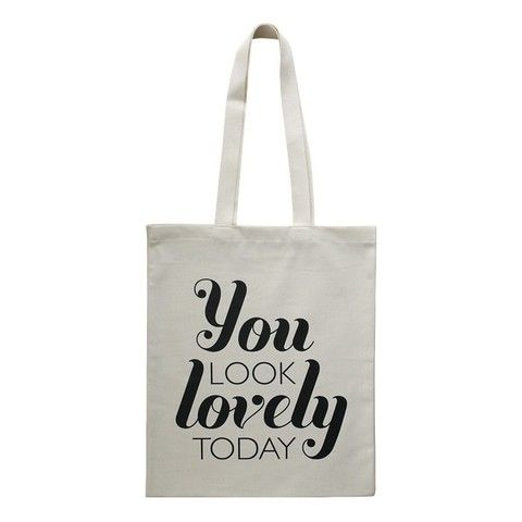 One of our favourite typographic bags! Purchase from www.se10gallery.com.au