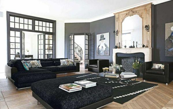 Le salon roche bobois - un conte de fée moderne - Archzinefr - farbideen wohnzimmer braun