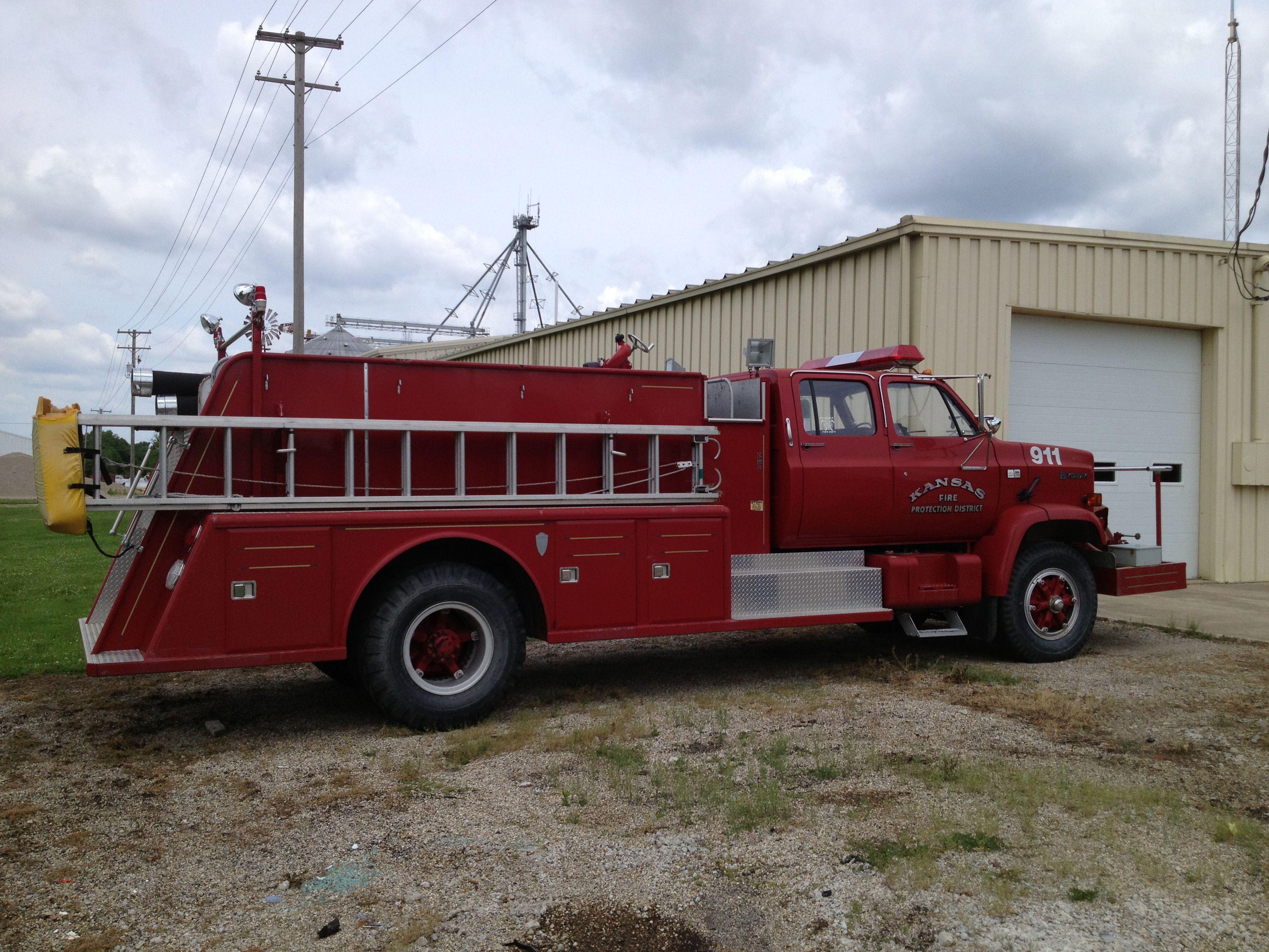 Illinois edgar county kansas - Fire Engine Kansas Illinois