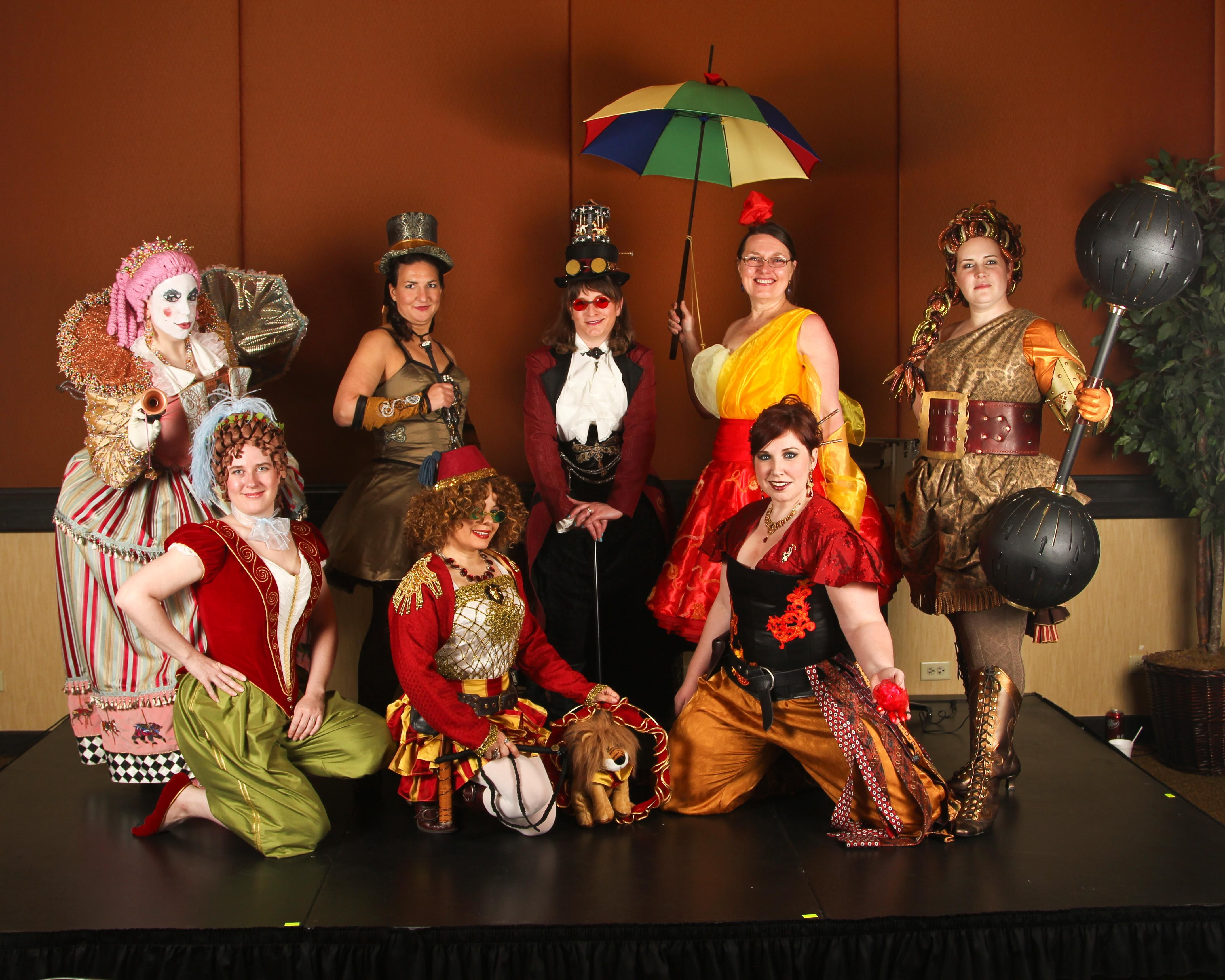 31Costumes At Costume Steampunk Circus Con On0wkX8P