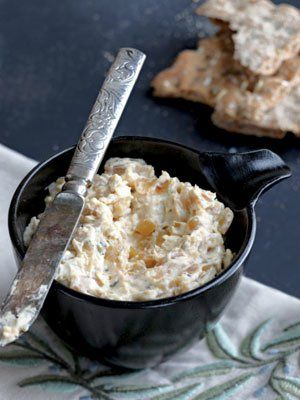 Recipes from The Nest - Warm Caramelized Onion Dip