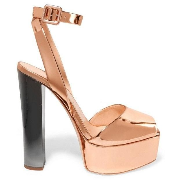 2fe4886143dd6b Sestito 2018 Ladies Bling Bling Glitter Mixed Color Square Thick High Heels  Dress Wedding Shoes Woman Open Toe Gladiator Sandals