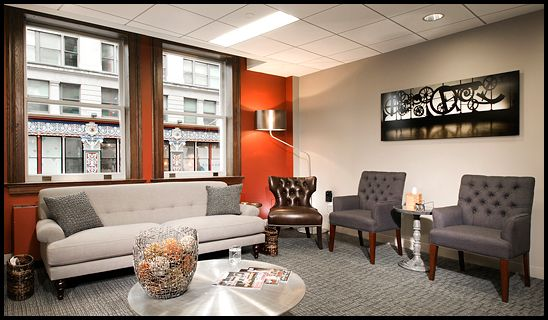 Virginia Photographer Office Waiting Room Design