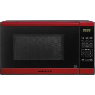 Morphy Richards Em820cptf Pm Standard Touch Microwave Red At Argos Co Uk Your Online For Microwaves