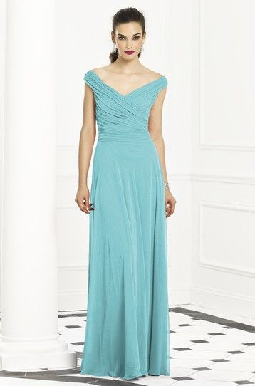 Spa Blue Mother Of The Bride Gown