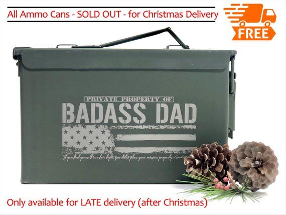 Christmas Gifts For Dad Husband Boyfriend Gift Men Ammo Box