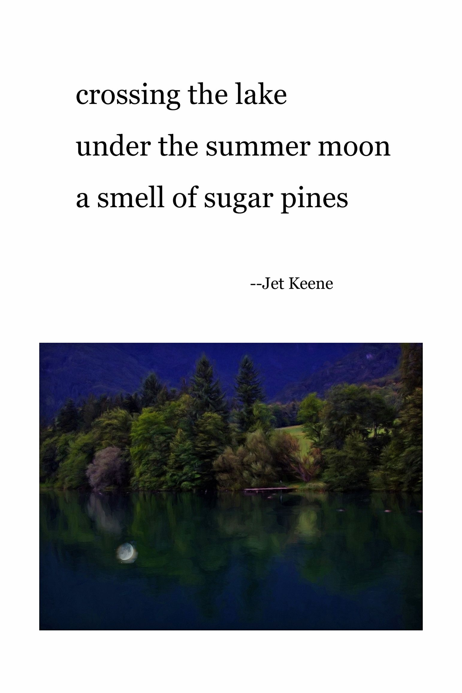 Haiku By Jet Keene Poetry Haiku