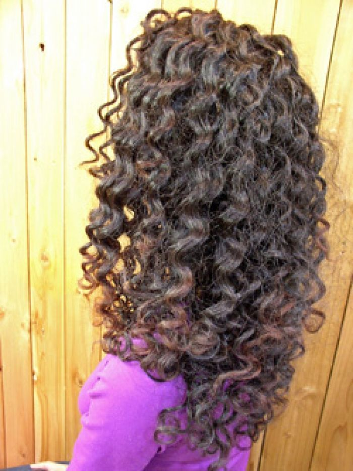 Piggyback Perm Long Hair Perm Hairstyles For Medium Hair Spiral