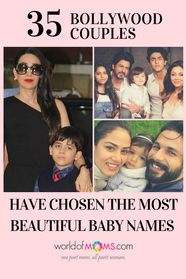 35 Bollywood Celebrities Kids With Unique Names Celebrity Kids Celebrity Baby Names Bollywood Couples