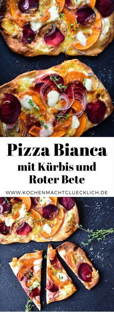 Photo of Recipe for pizza bianca with beetroot and hokkaido pumpkin
