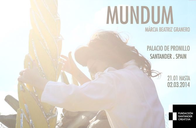 """Exposição individual do trabalho """"MUNDUM"""" no Palácio de Pronillo (Espanha), dentro da programação Fundación Santander Creativa. De 21/01 a 02/03/2014. Curadoria: Luis Bezeta"""